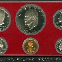 Image of 1976 (S) Proof Set, US. - 1998.0030.0909