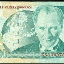 Image of L. 1970 (2000) 20,000,000 Lira, KM 215 (2014), Turkey. - 2013.0018.0114