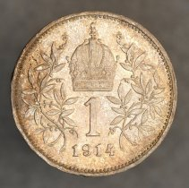 Image of 1914 1 Corona, Austria/Empire