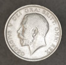 Image of 1918 1/2 Crown Great Britain