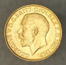 Image of 1918 Sovereign Great Britain