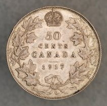 Image of 1917 50 Cents Canada