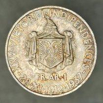 Image of 1937 Frang Ar, Zog I
