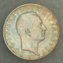 Image of 1937 2 Franga Ari, Zog I