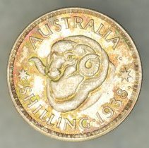 Image of 1938(m) Shilling, George VI