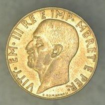 Image of 1940R 0.10 Lek, Vittorio Emanuele III