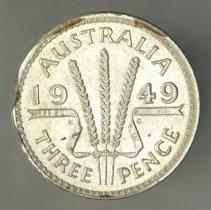 Image of 1949(m) Threepence, George VI