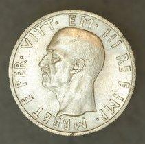 Image of 1939R 5 Lek, Vittorio Emanuele III