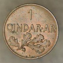 Image of 1935R Qindar Ar, Zog I