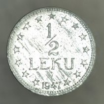 Image of 1947 1/2 Leku, People's Socialist Republic