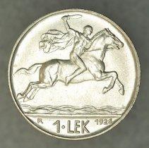 Image of 1926R 1 Lek, Zog I