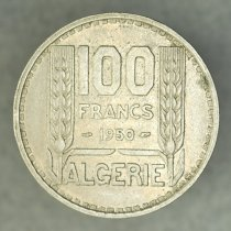 Image of 1950 100 Francs, French Occupation