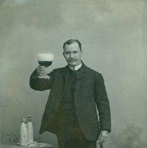 Image of Curtis Gates Lloyd from German Postcard