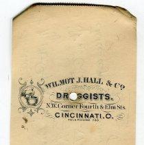 Image of prescription back