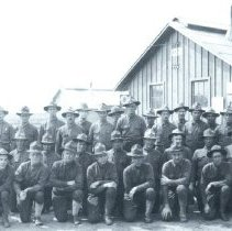Image of Auxillary Remount Depot #323, World War 1 First section - 2015FIC429