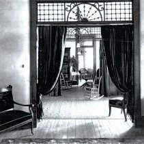Image of House interior fancy doorway
