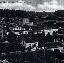 Image of Bird's Eye view of Woodburn Or.  - 2015FIC546