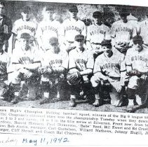Image of Bulldog Baseball Champs 1942 - 2015FIC622