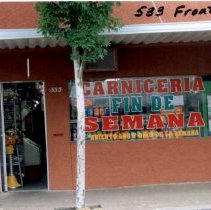 Image of Carniceria 533 Front Street in 2005