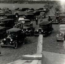 Image of Cars at the airport about 1940 - 2015FIC688
