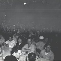 Image of Crowd at dinner maybe in the armory. - 2015FIC1001