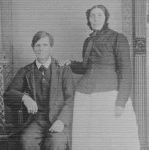 Image of Older Couple Unknown 00092 Hall B-3a-6 - 2015FIC1024