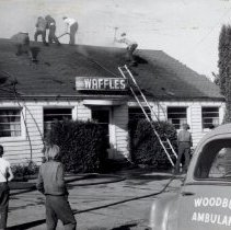 Image of Filbert Grove Restaurant fire 1960 - 2015FIC1486