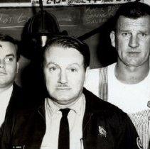 Image of Firemen 1968 John VanLiew, Jeff Juenemann, Bill Hudgekiss, Clayton Osborn, Ward Hershberger - 2015FIC1510