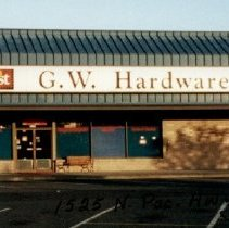 Image of G.W.Hardware 1525 N Pacific Highway  in 2000 and 2005 - 2015FIC1726