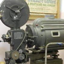 Image of Movie Projector in Bungalow Theater lobby - 2015FIC1872
