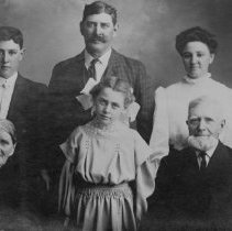 Image of Family three generations Hall B-3c-11 Oregon State Library Collection - 2016FIC2016