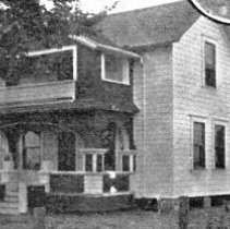 Image of Whitney, C.W. home and inset of pheasant which Mrs. Whitney raised - 2016FIC2150
