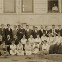 Image of High School students and faculty abt. 1915 - 2016FIC2168
