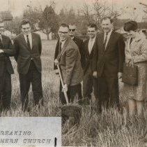 Image of Hope Lutheran Church groundbreaking 1969 - 2016FIC2196