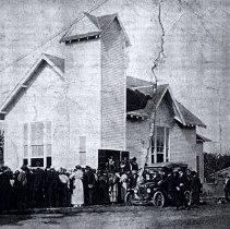 Image of Immanual Lutheran Church 1914, 1954, 2014 1036 E Lincoln - 2016FIC2295