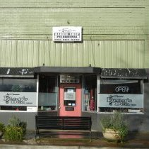 Image of King's Den Barber Shop 247 Front Street in 2013and 1032 N Pacific Highway in 1979 - 2016FIC2589