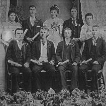 Image of Laurance School Class of 1893 before Woodburn had a high school - 2016FIC2604