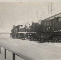 Image of Lumber Train at Camp McGregor, 1949 - 2016FIC2718