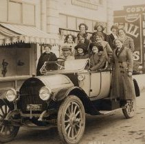 Image of Ladies in automobile on Front Street - 2016FIC2725