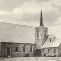 Image of Methodist Church on Young Street dedicated March, 1955 - 2016FIC2858