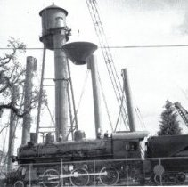 Image of New water tower going up - 2016FIC3046