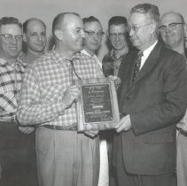 Image of Norman's Servic Co. award