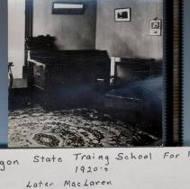 Image of Oregon State Training School for Boys Living area - 2016FIC3165