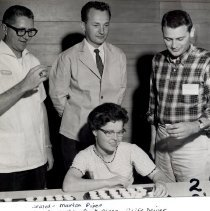 Image of Marion Piper, Bob Sawtelle, Paul Asper and Cliff Driver