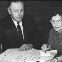 Image of Joe Serres and Mrs. Meisenhbiner