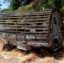 Image of Sheep herder's wagon from the 1930s - 2016FIC3635