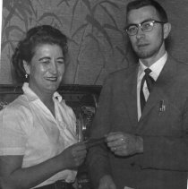 Image of Smith, Mrs. June and Ray Miller Oregon Centennial 1959 - 2016FIC3712