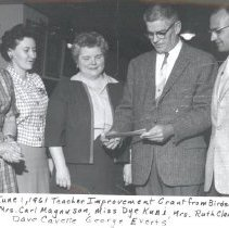 Image of Teacher Improvement Grant from Birdseye, 1961 - 2016FIC3888