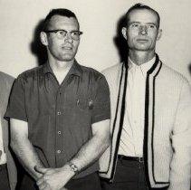 Image of Truss-T Structures Officers 1965. Floyd Lenhart, Elvin Poage, Fletcher L. Prince, W. Vance Yoder - 2016FIC3991