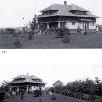 Image of Two views of the same house Hall-H-27 and Hall-H-37 - 2016FIC4004